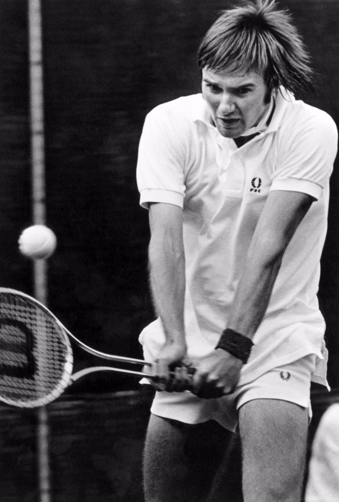 Jimmy Connors, 1974 : Stock Photo