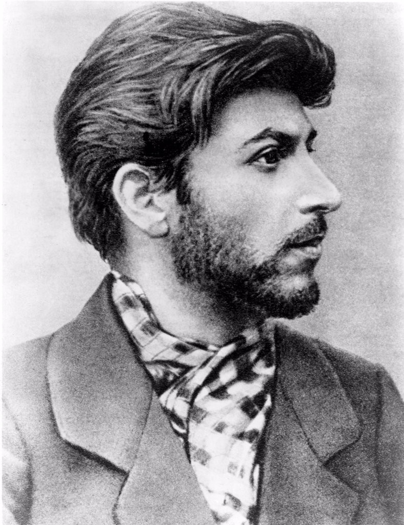 Stock Photo: 4048-1527 Josef Stalin as a young revolutionary in 1900.