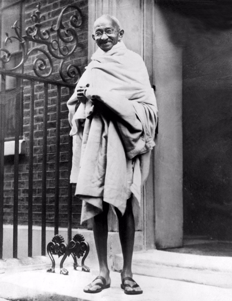 Stock Photo: 4048-1706 Mahatma Gandhi in1931.