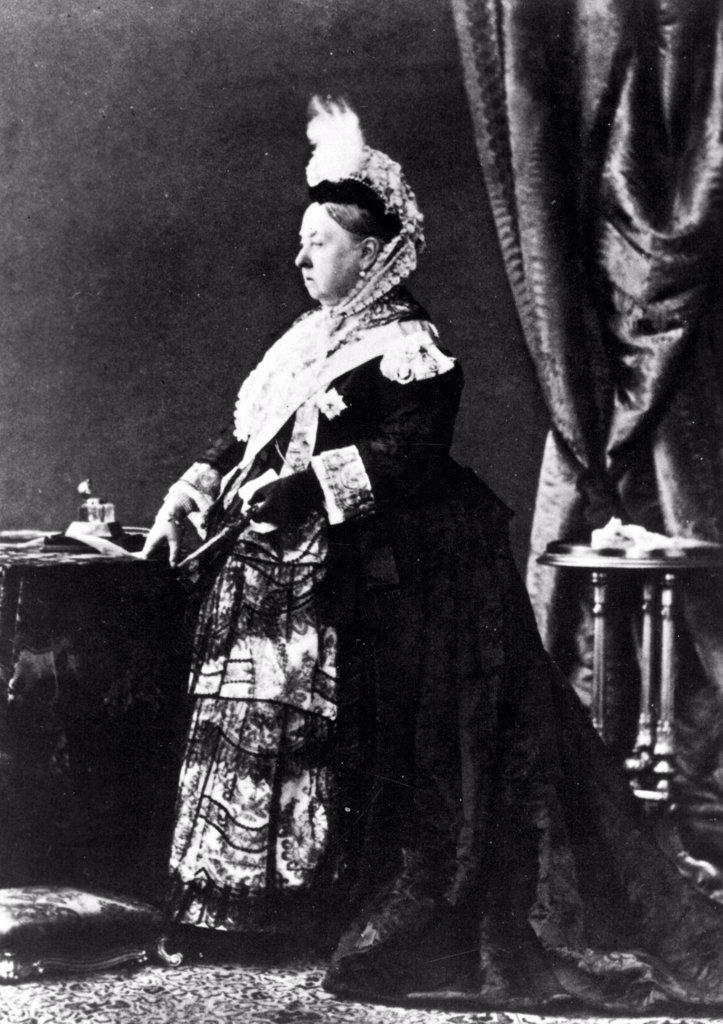 Queen Victoria, undated : Stock Photo