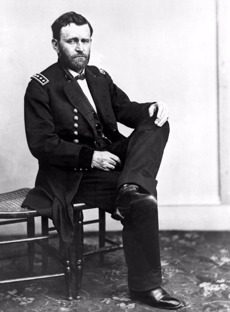 ULYSSES S. GRANT, undated. : Stock Photo