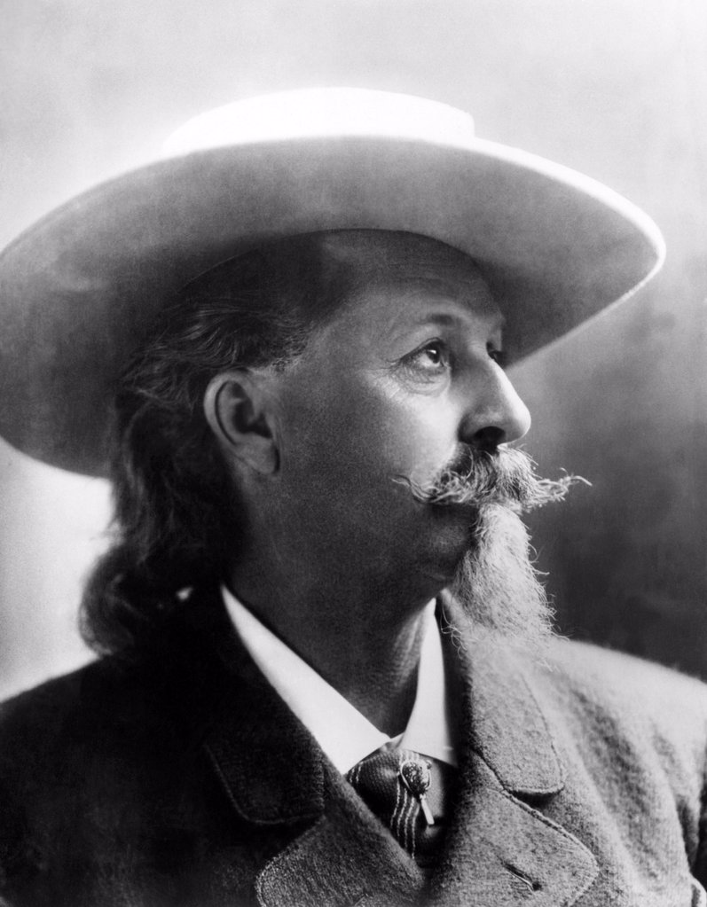 Stock Photo: 4048-2138 William 'Buffalo Bill' Cody (1846-1917)