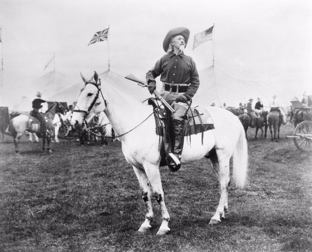 Stock Photo: 4048-2140 William 'Buffalo Bill' Cody (1846-1917)
