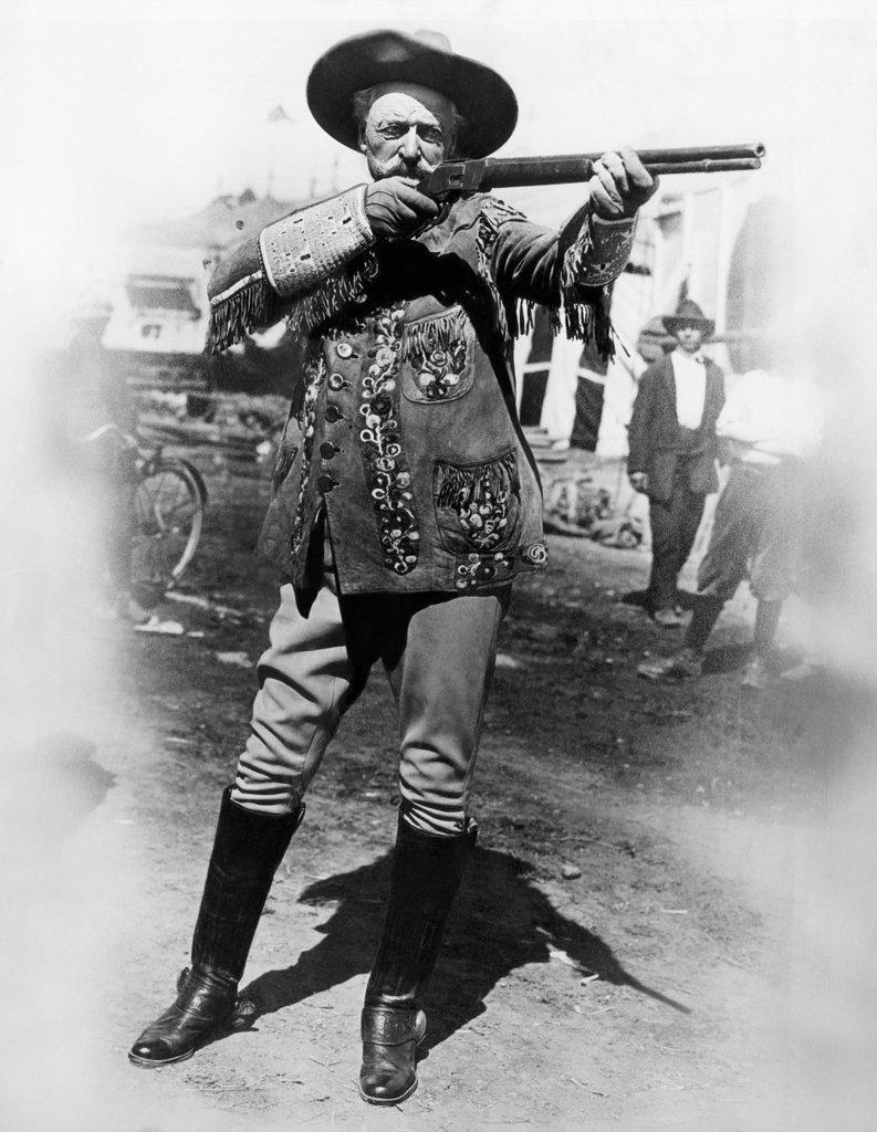 Stock Photo: 4048-2141 William 'Buffalo Bill' Cody (1846-1917)