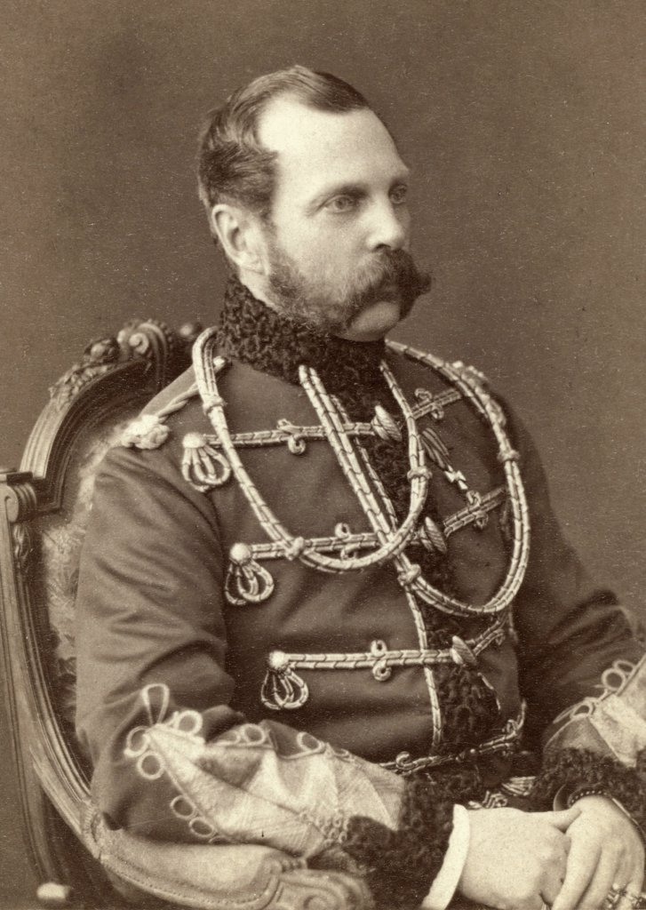 Tsar Alexander II (1818-1881), Emperor of Russia, was assassinated by a bomb planted by the People's Will, a radical political group. : Stock Photo