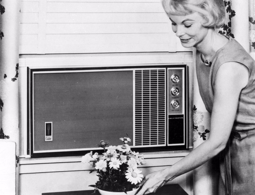 Stock Photo: 4048-904 Air Conditioner-Date Unknown