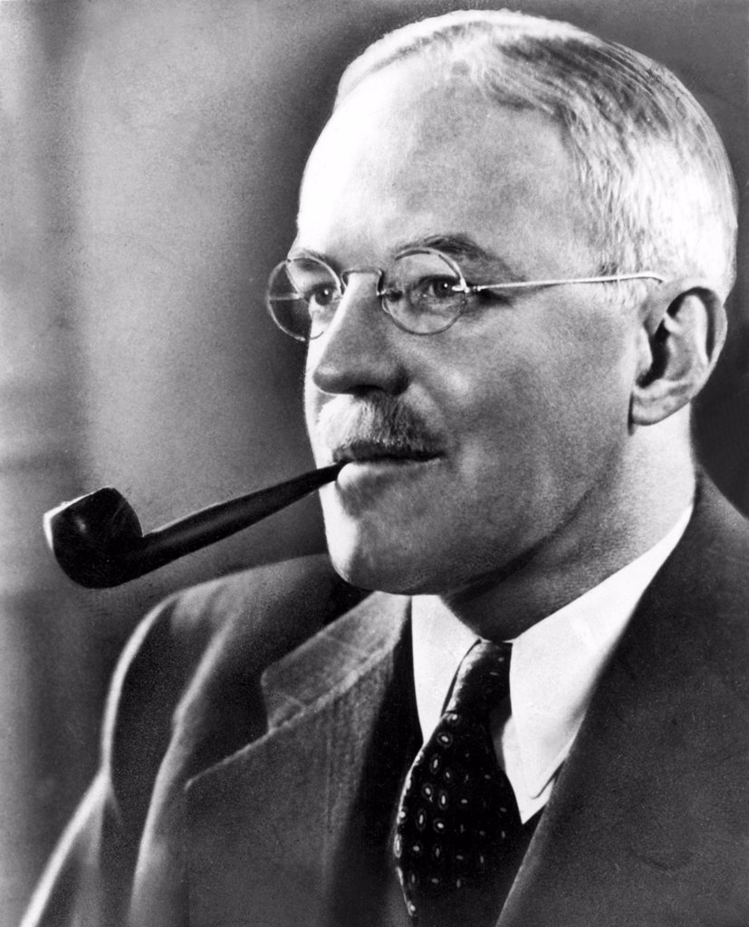 Stock Photo: 4048-912 Allan Dulles, one-time director of the CIA.