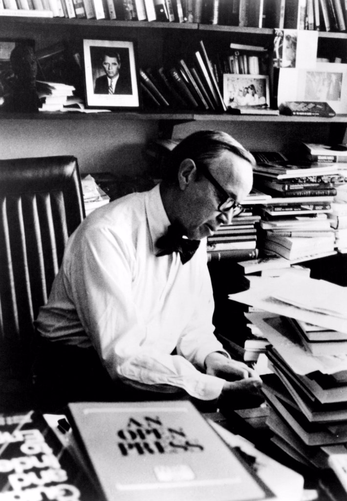 Stock Photo: 4048-958 Historian and former White House aide Arthur M. Schlesinger Jr., circa 1973