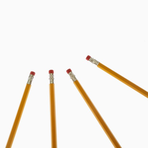 Stock Photo: 4049R-140 Close-up of pencils