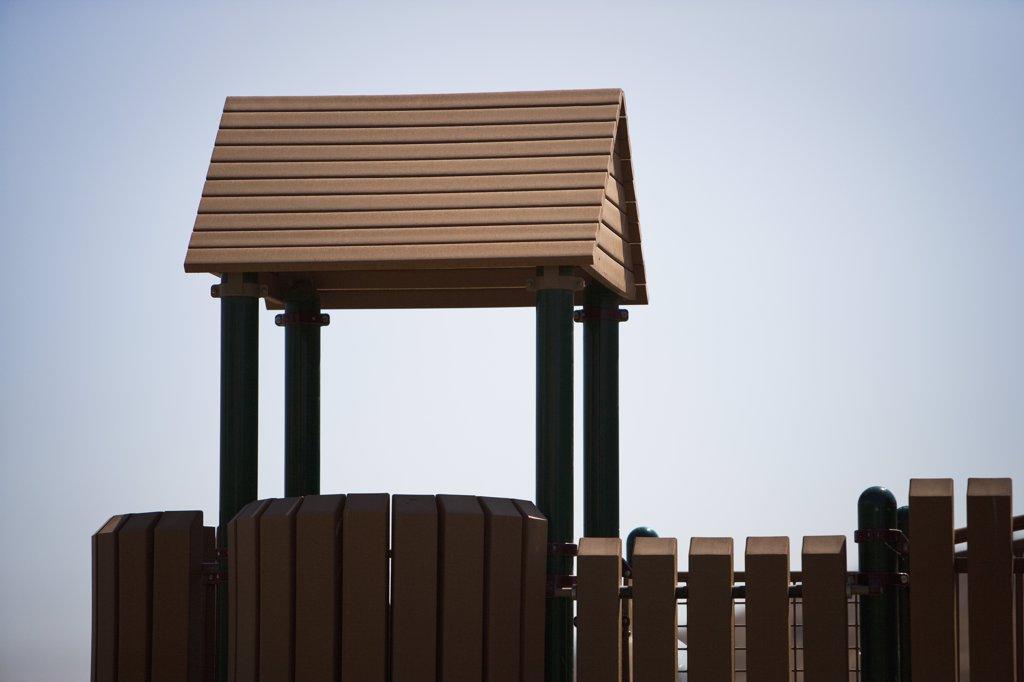 Stock Photo: 4053-9782 Detail of children's playground
