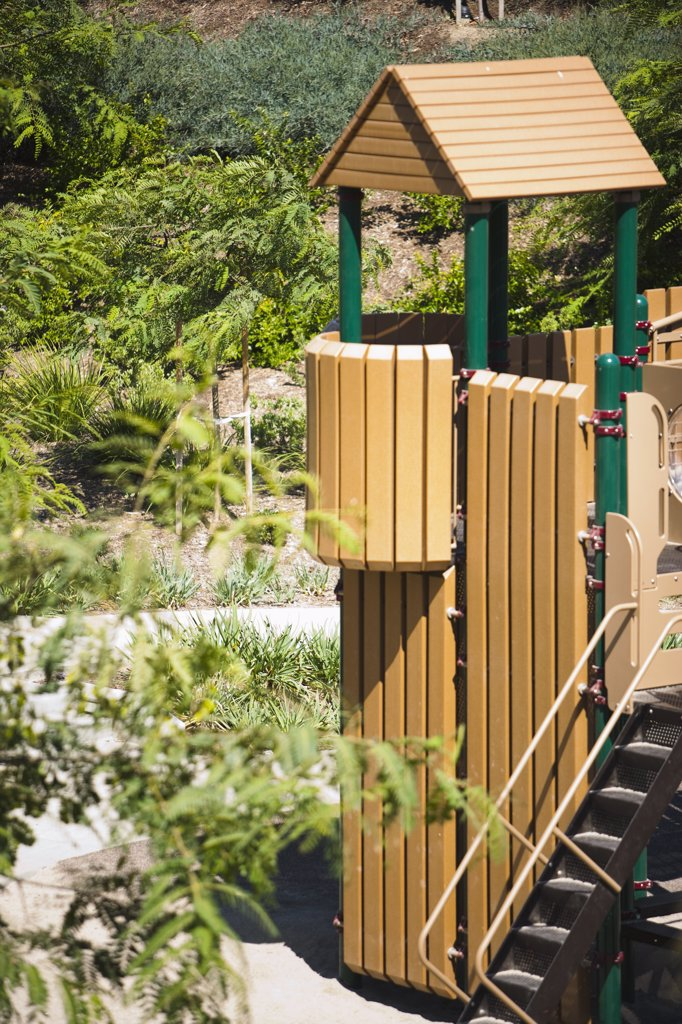 Stock Photo: 4053-9786 Detail of children's playground