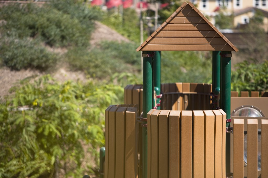 Stock Photo: 4053-9787 Detail of children's playground