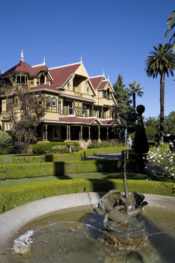 Stock Photo: 4055-1302 Winchester Mystery House, San Jose, California, USA