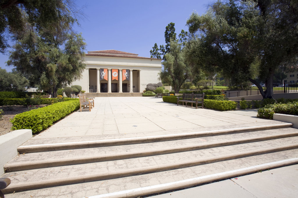 Stock Photo: 4055-1445 Thorne Hall. Occidental College is where Barack Obama attended from fall 1979 through spring 1981 before  transferring to Columbia University. Highland Park, Los Angeles, California, USA