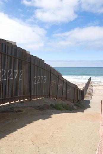Border Field State Park, California : Stock Photo