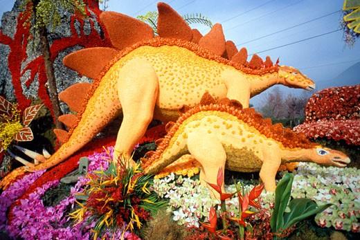 Rose Parade Float, Pasadena, California (LA) : Stock Photo