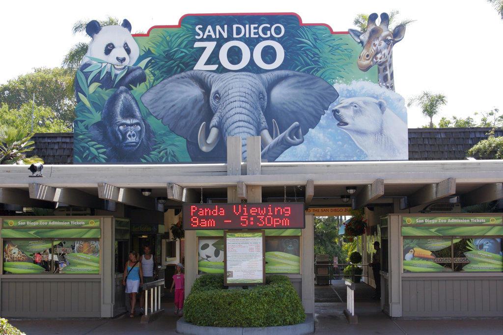 San Diego Zoo, California (SD) : Stock Photo