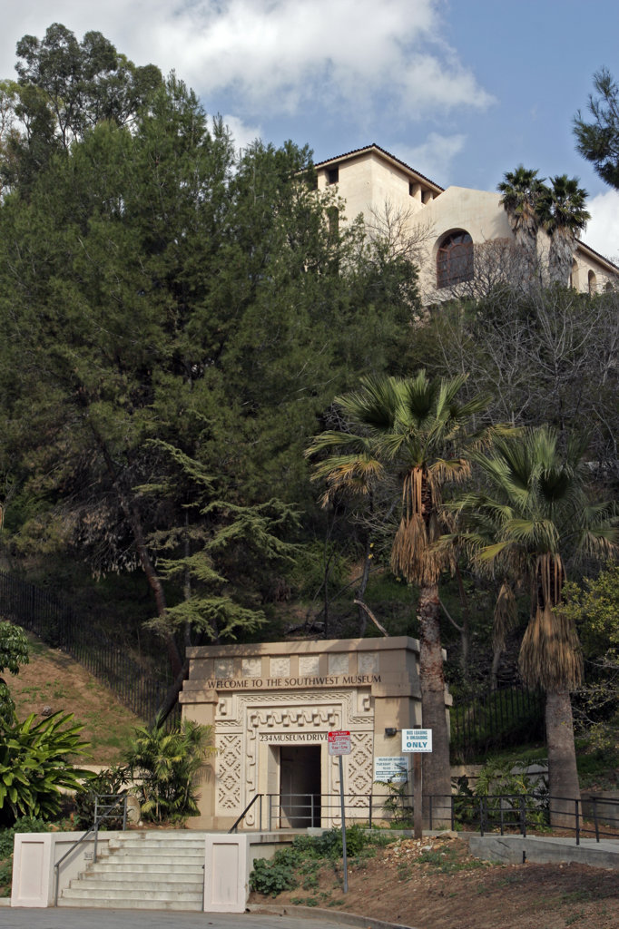 Southwest Museum of the American Indian, Mt. Washington, Los Angeles, California (LA) : Stock Photo