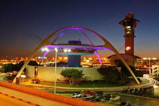Encounter Restaurant, Los Angeles International Airport, LAX, El Segundo, Los Angeles County, California, United States, USA : Stock Photo