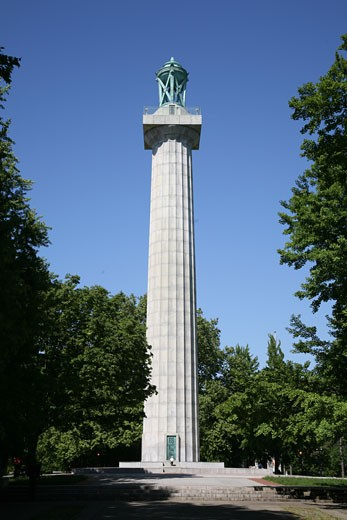 Prison Ship Martyrs' Monument, Fort Greene Park, Brooklyn, New York City, United States of America, North America : Stock Photo