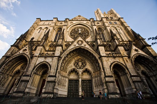 The Cathedral Church of Saint John the Divine, Manhattan, New York City, United States of America : Stock Photo