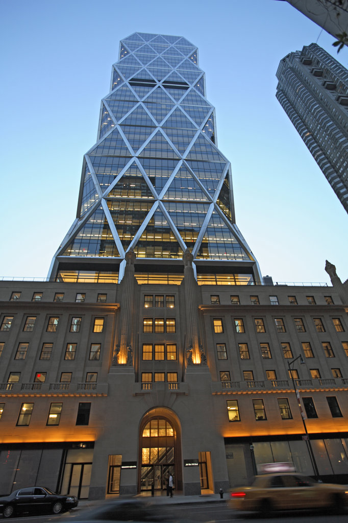Hearst Tower, Manhattan, New York : Stock Photo