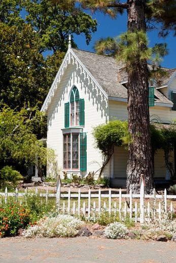 General Vallejo Home, Sonoma State Historic Park, California : Stock Photo