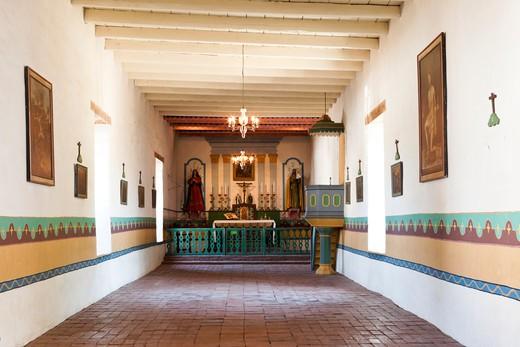 Sonoma Mission (San Francisco Solano) Chapel, Sonoma, California : Stock Photo