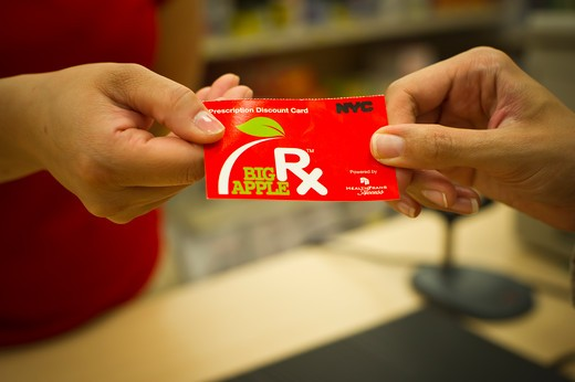 The pharmacy at Target in downtown Brooklyn in New York  on Wednesday, May 18, 2011. The BigAppleRx card  was introduced, available to all New Yorkers free of charge it allows New Yorkers to purchase discounted  prescription drugs. : Stock Photo