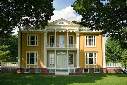 Boscobel restoration, gilded age mansion in Cold Spring, Putnam County, Hudson Valley, New York State : Stock Photo