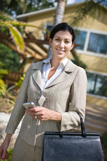 Stock Photo: 4061-139 Portrait of a businesswoman