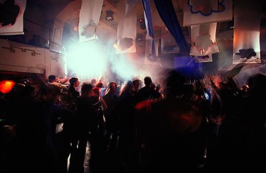 Clubbing: Prague : Stock Photo