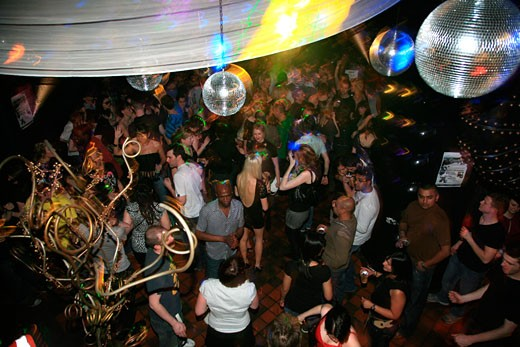 Stock Photo: 4062-3584 Closing party at Turnmills, The Last Dance, London, UK, 23.3.08