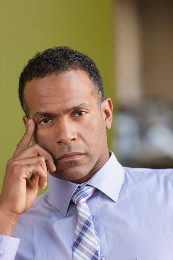 Stock Photo: 4064R-657 Portrait of businessman