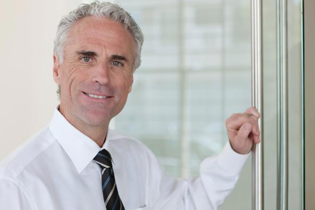 Stock Photo: 4064R-766 Businessman portrait