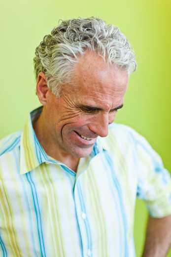 Stock Photo: 4064R-834 Cheerful mature businessman