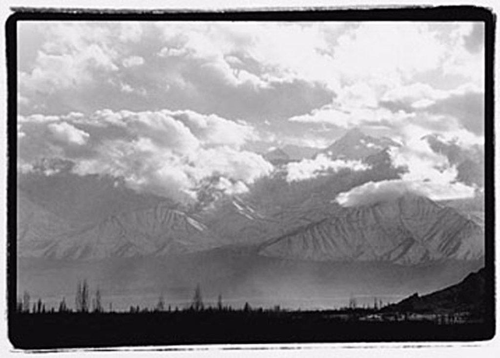 India, Ladakh, Leh, The Himalayas at dusk. : Stock Photo