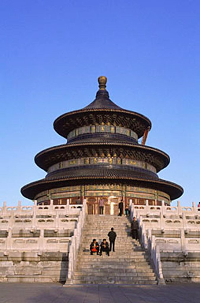 Stock Photo: 4065-18609 China, Beijing, Temple of Heavenly Peace.