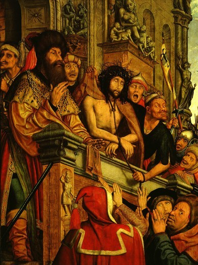Stock Photo: 4069-1098 Ecce Homo, Christ shown to the people by Pontius Pilate, 1518-20