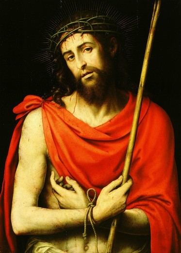 Stock Photo: 4069-1355 Ecce Homo, Christ mocked, c. 1572