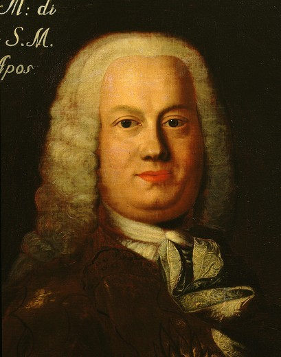 Stock Photo: 4069-1506 Antonio CALDARA 1670-1736 Italian composer