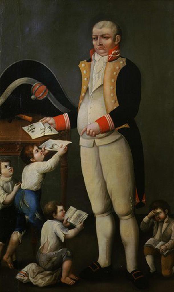 Stock Photo: 4069-1560 Don Juan Antonio del CASTILLO 1744-1817, founder of Mexican Academy of Fine Art, 18th century Mexican