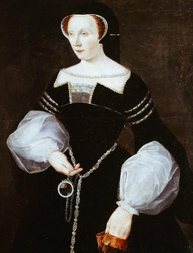 Stock Photo: 4069-1599 Diane de POITIERS, Lady de BrÄzÄ, Duchess of Valentinois 1499-1566 (MV3118)