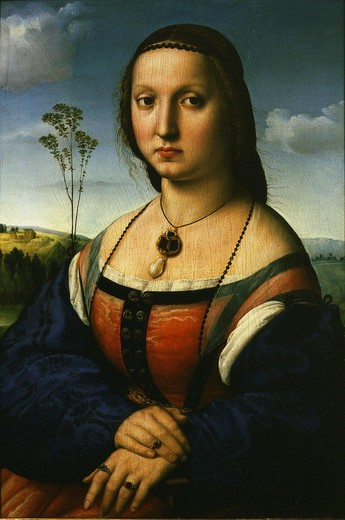 Stock Photo: 4069-1621 Maddalena DONI, born Strozzi, 1505-6