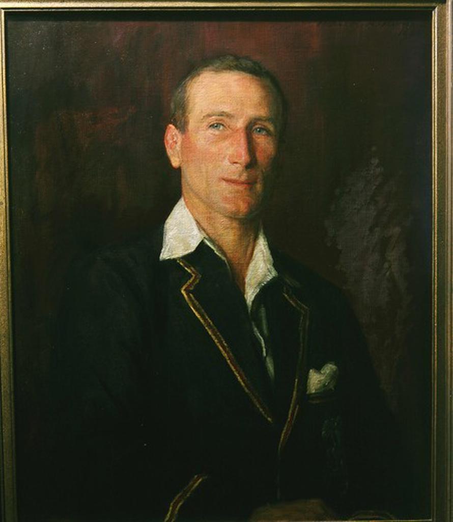 Stock Photo: 4069-1765 Douglas JARDINE, cricketer, 1934, by Herbert Oliver