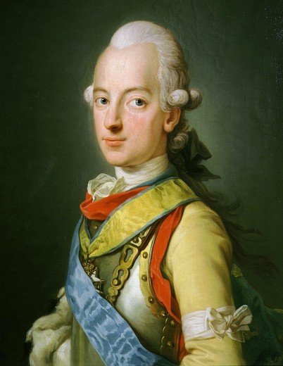 King CHARLES XIII of Sweden and Norway 1746-92 : Stock Photo