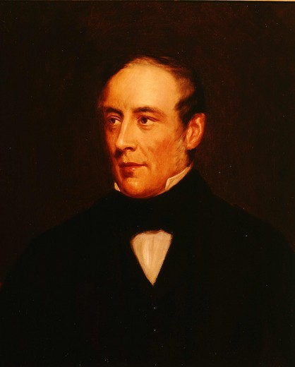 Alfred LATHAM, 1833-65, governor of Bank of England : Stock Photo