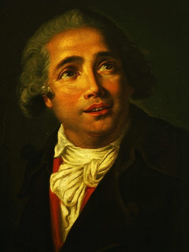 Giovanni PAISIELLO 1740-1816 Italian composer of opera (detail) : Stock Photo