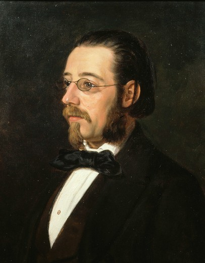 Stock Photo: 4069-2057 Bedrich SMETANA,1824-84 Czech composer