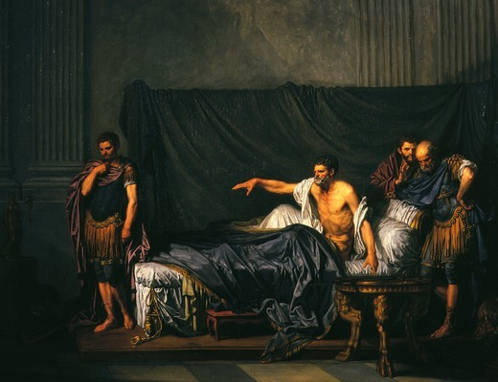 Stock Photo: 4069-2222 Emperor Septimus Severus and Caracalla 188-217 AD